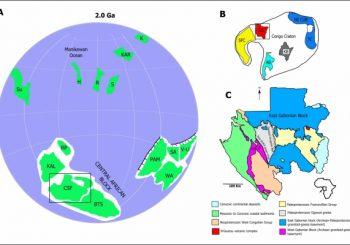 Les plus vieilles cendres volcaniques fossilisées dans une bentonite de 2,1 milliards d'années