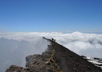 Le LMV  en Mission sur l'Etna