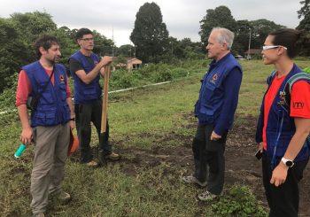 Le LMV en mission au Guatemala