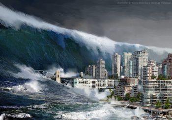 Inauguration du dispositif de génération de tsunamis : Vidéo