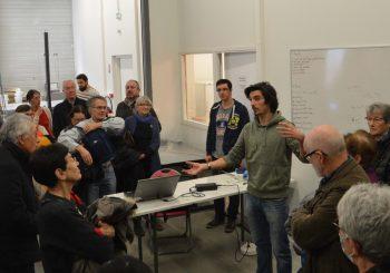 La Société d'Histoire Naturelle d'Auvergne en visite au LMV