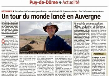 Tour du monde en partant d'Auvergne