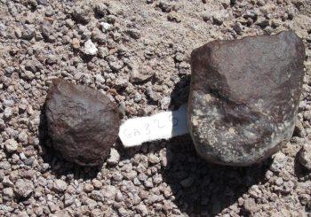 Récolte de météorites dans le désert d'Atacama
