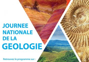 Journée Nationale de la Géologie le 22 avril 2019