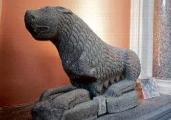 Des fontaines lionnes au musée de la céramique de Lezoux