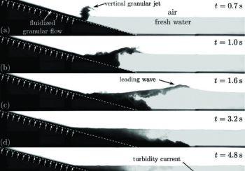 Comment générer des tsunamis par des écoulements pyroclastiques