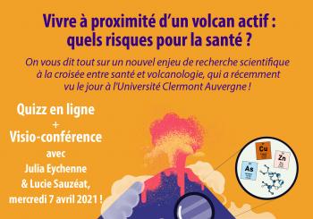 Quizz Clermont Innovation Week 2021 – Cendres et Santé (J. Eychenne et L. Sauzéat)